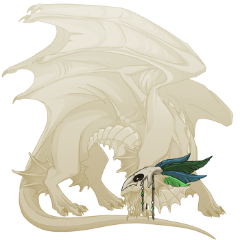 File:Green Birdskull Headdress Guardian M.png
