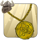 Gold Amulet of Alchemy