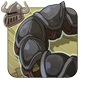 Tarnished Steel Tail Cuffs