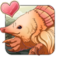 Pink-Tail Mole Icon