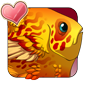Golden Featherfin Icon