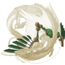 Copper steampunk wings imp f