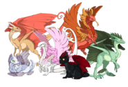 All rare dragons