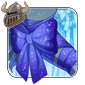 Sparkling Blue Arm Bow