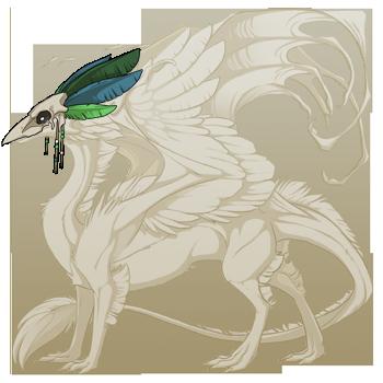 File:Green Birdskull Headdress Skydancer M.png