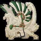 Copper steampunk wings coatl f