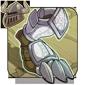 Ornate Platinum Boots