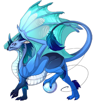 Blue Ripple Skin