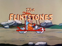 The Flintstones 1960 title screen