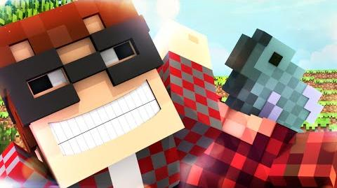 Minecraft Animated Short A STORY OF A FISH!