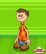 James has Chuck's wear
