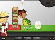 Alberto gets Burgerzilla