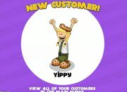 Yippy new costumer