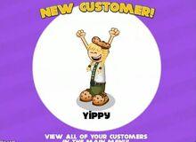 Yippy new costumer