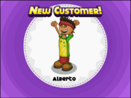 Alberto in Papa's Pastaria
