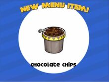 Unlocking papa chocolate chips