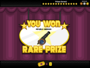 Papa's Donuteria - Pop Dart - Prize 16 (Gold)