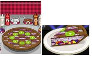 Opposite Ingredients on Bruna's pie