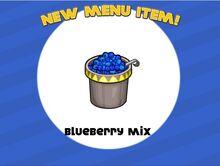 Blueberry mix unlocked