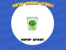 Unlocking hyper green
