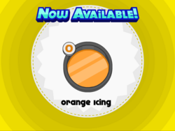 Papa's Donuteria - Orange Icing