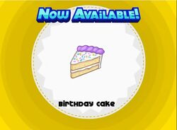Unlocking birthday cake