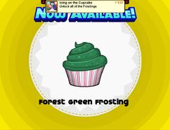ForestGreenfrostingunlocked!