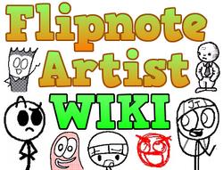 Flipnote Artist Wiki Logo