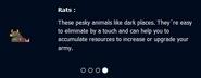 Blurb for rats