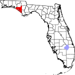150px-Map of Florida highlighting Bay County svg