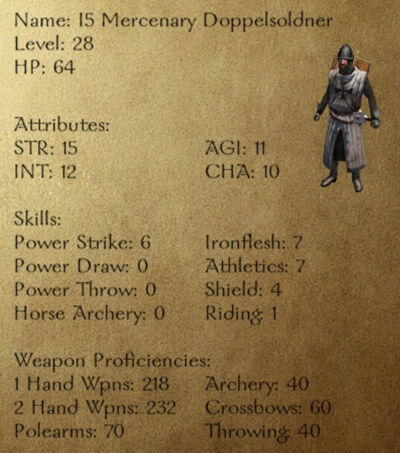 I5 Mercenary Doppelsoldner