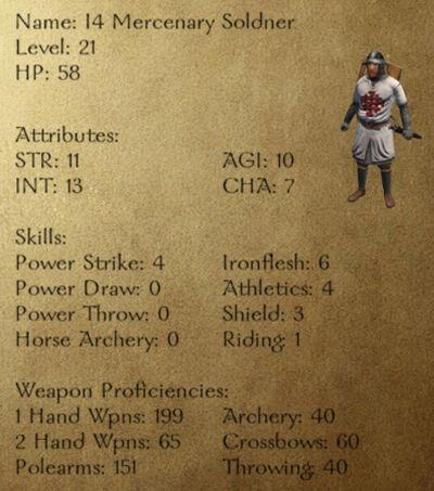 I4 Mercenary Soldner