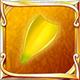 Banana ocean petal icon