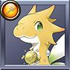 Shinka ryuu 05 year yellow icon