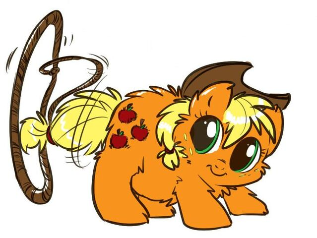 File:Fluffy applejack and her rope.jpg
