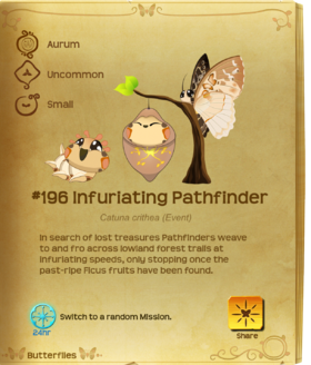 Infuriating Pathfinder§Flutterpedia