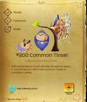 Common Tinsel§Flutterpedia
