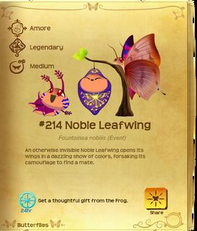Noble Leafwing§Flutterpedia