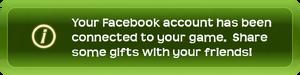 MessageGreen§FacebookAccountConnected