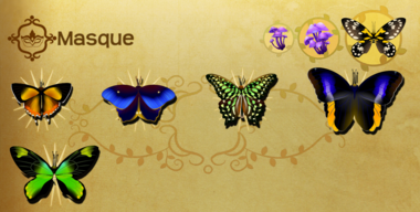 Masque Set§Flutterpedia