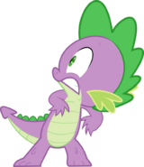 Spike scared by twilightpoint-d532cus