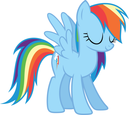 File:Eyes closed Rainbow Dash.png