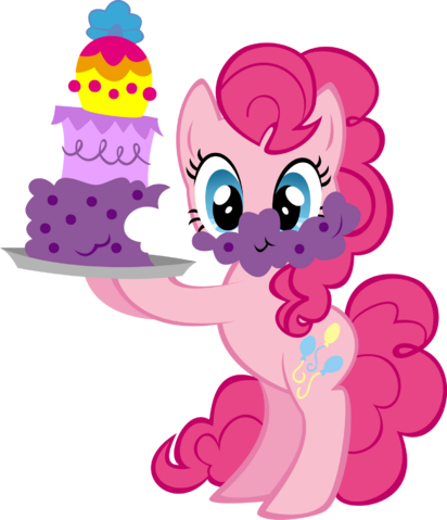 File:Pinkie Pie with cake.png