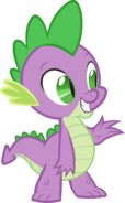 Canterlot Castle Spike 5