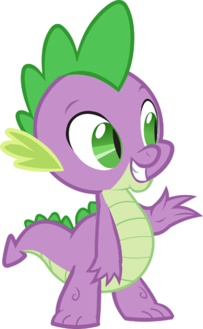 File:Canterlot Castle Spike 5.png