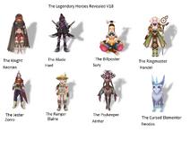 The Legendary Heroes