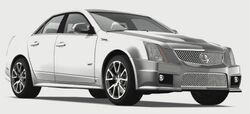 CadillacCTSV2009