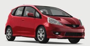 HondaFit2009