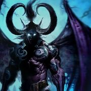 Wings demons horns fantasy art illidan artwork warcraft 1920x1200 wallpaper www.wallpaperhi.com 31