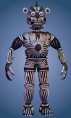 Funtime Freddy Endoskeleton no face